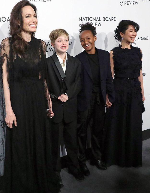 Angelina Jolie, Shiloh et Zahara