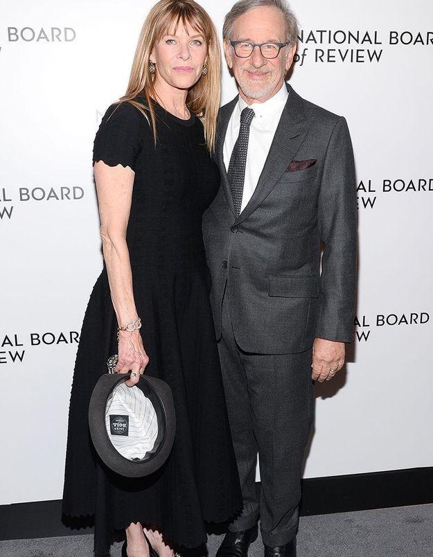 Steven Spielberg et Jessica Chapshaw
