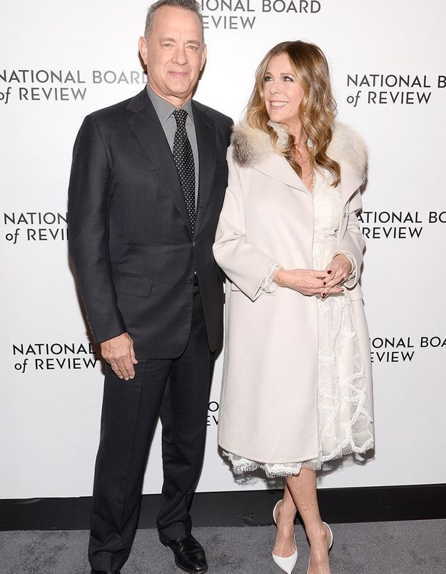 Tom Hanks et Rita Wilson