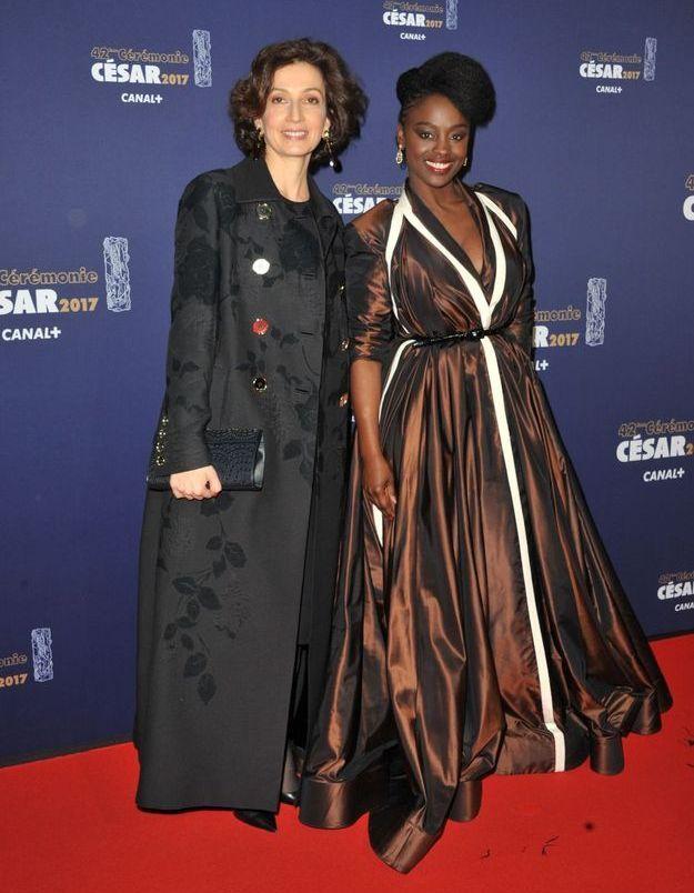 Audrey Azoulay et Aïssa Maïga