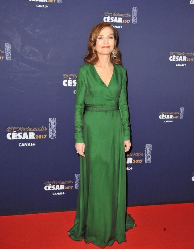 Isabelle Huppert en Dior Haute Couture