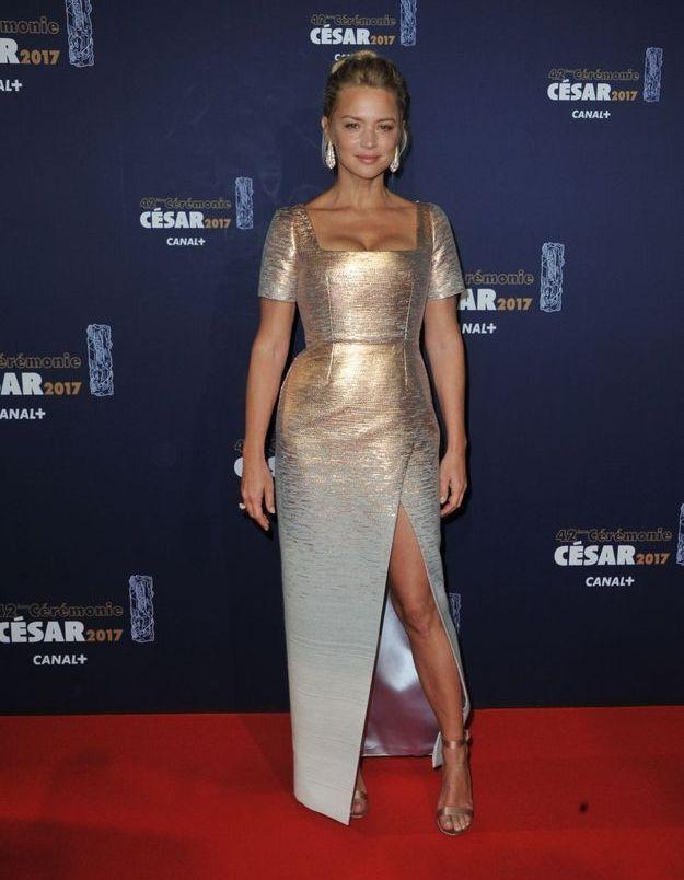 Virginie Efira en Schiaparelli Haute Couture