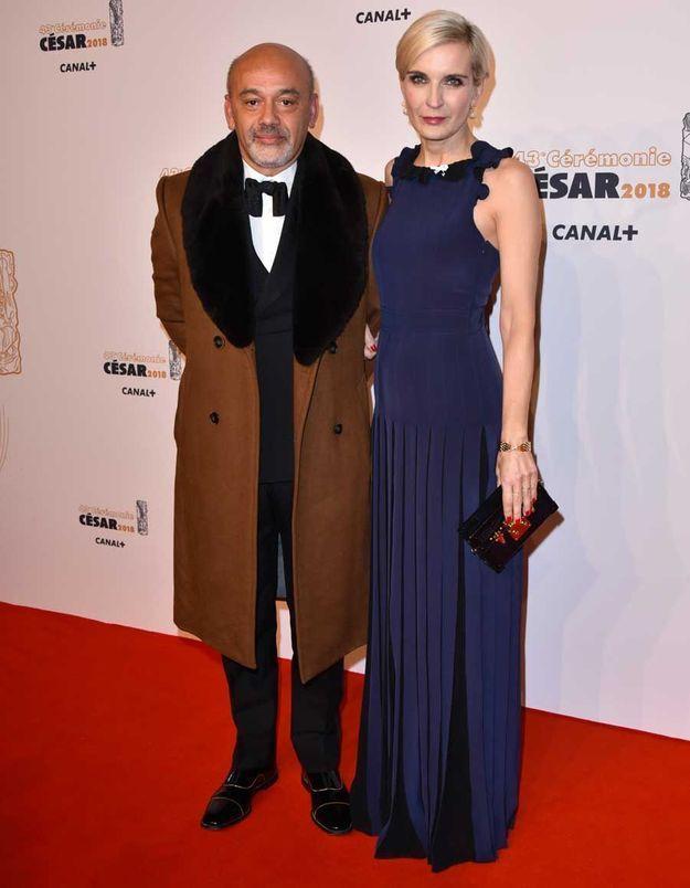 Christian Louboutin et Melita Toscan du Plantier