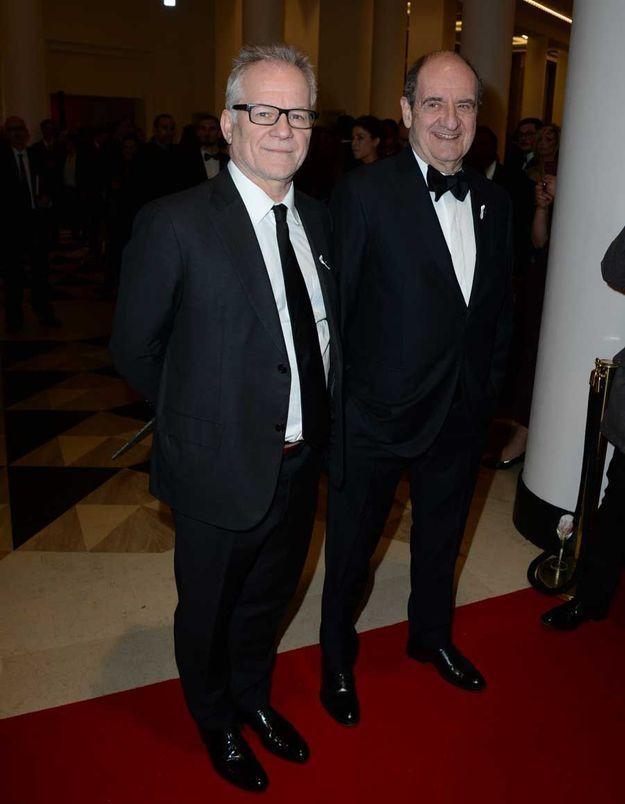 Thierry Frémeaux et Pierre Lescure