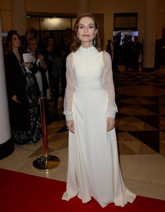 Isabelle Huppert en Dior Couture