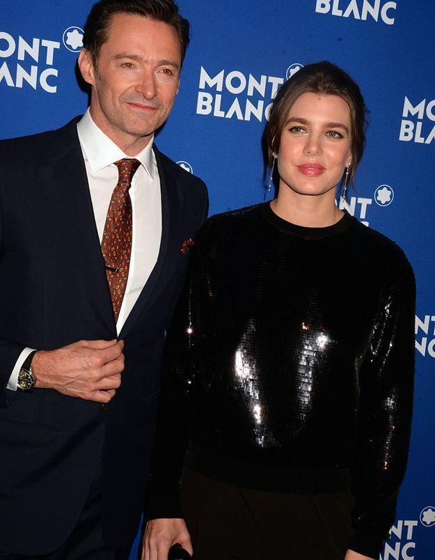 Hugh Jackman et Charlotte Casiraghi