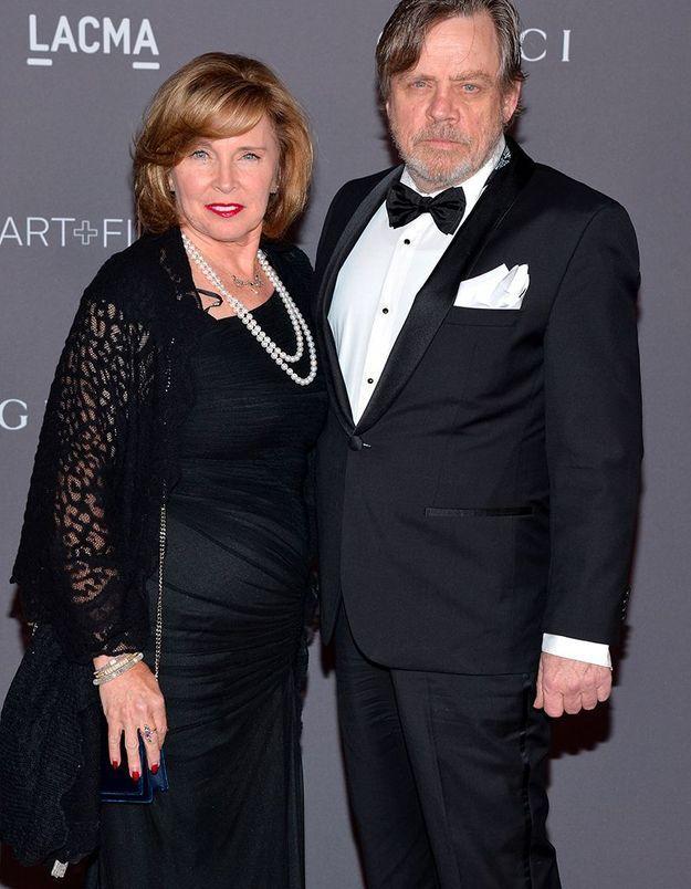 Mark Hamill et sa femme Marilou