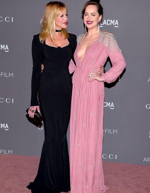Melanie Griffith et Dakota Johnson