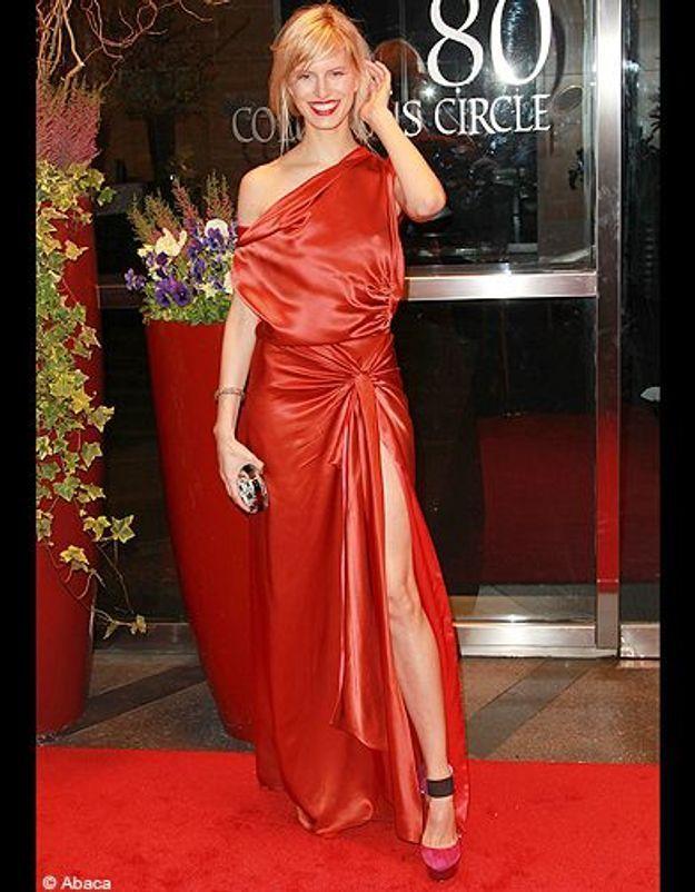 Karolina Kurkova à la soirée des New Yorkers For Children