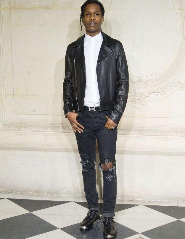 ASAP Rocky au défilé Dior