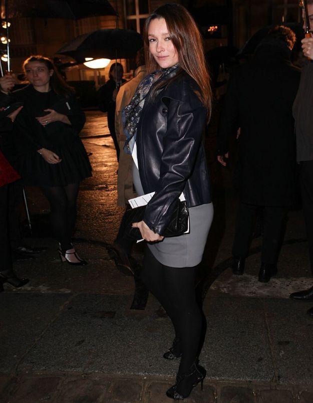 Audrey Marnay au défilé Valentino