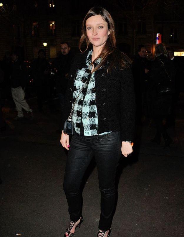 Audrey Marnay au défilé Versace