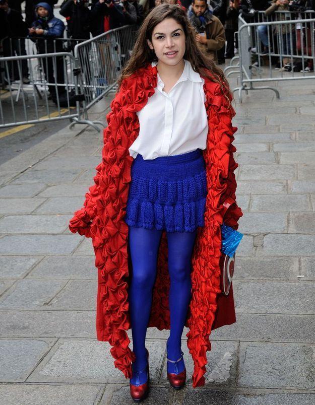 Cosima Ramirez au défilé Jean-Paul Gaultier