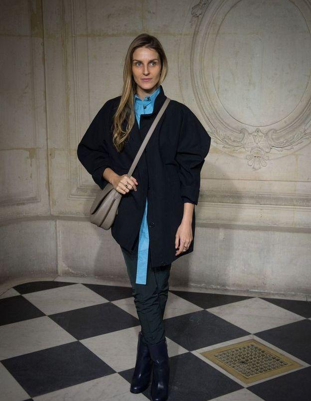 Gaïa Repossi au défilé Dior