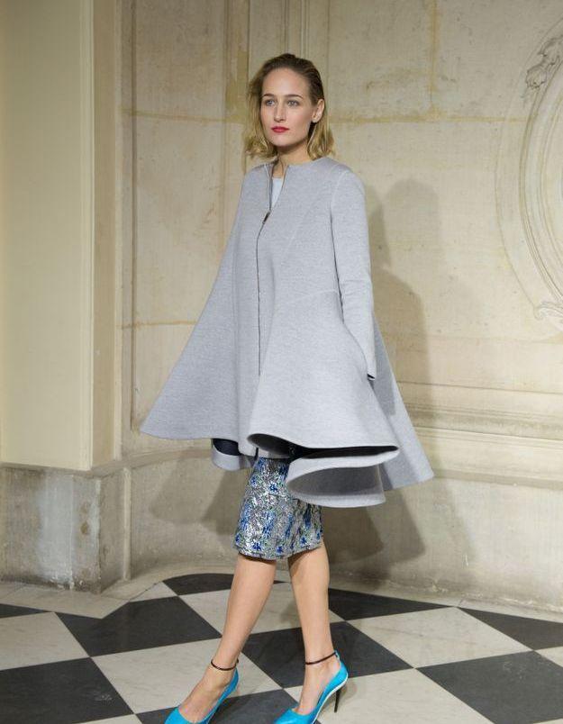 Leelee Sobieski au défilé Dior