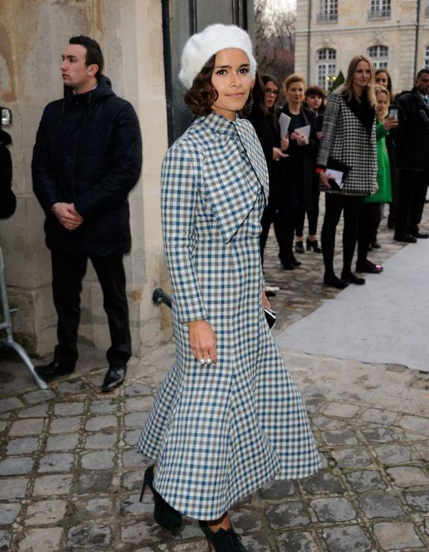 Miroslava Duma au défilé Dior