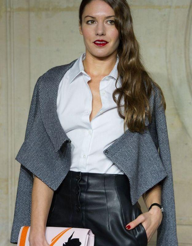 Natasha Andrews au défilé Dior