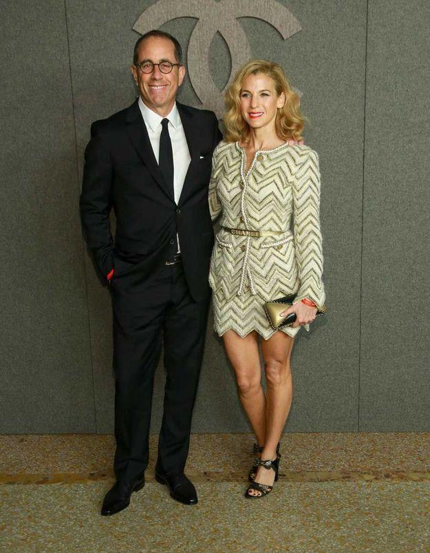 Jerry et Jessica Seinfeld
