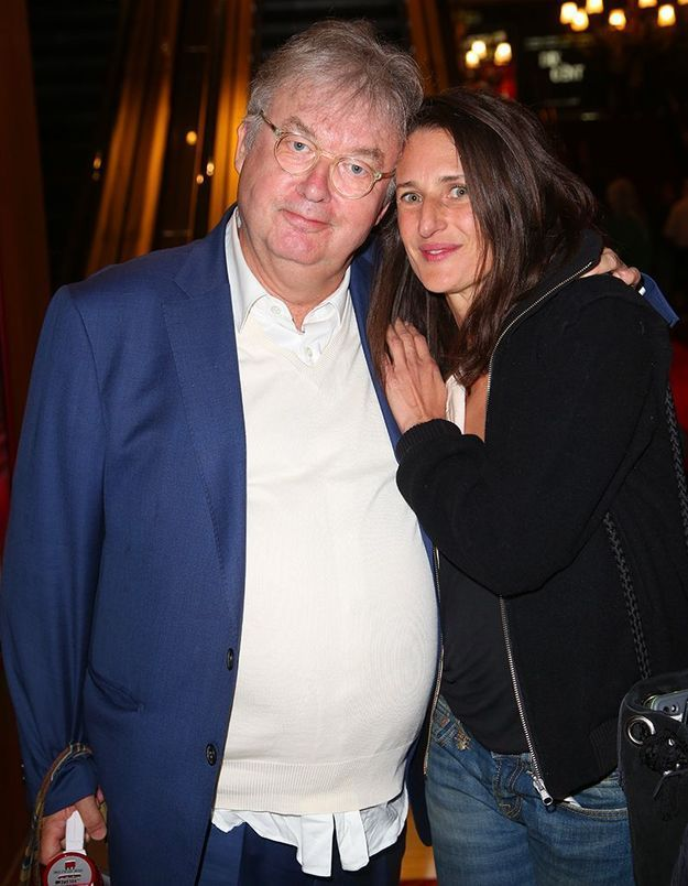 Dominique Besnehard et Camille Cottin