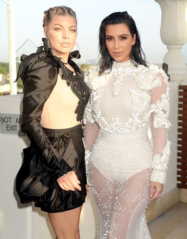 Fergie et Kim Kardashian
