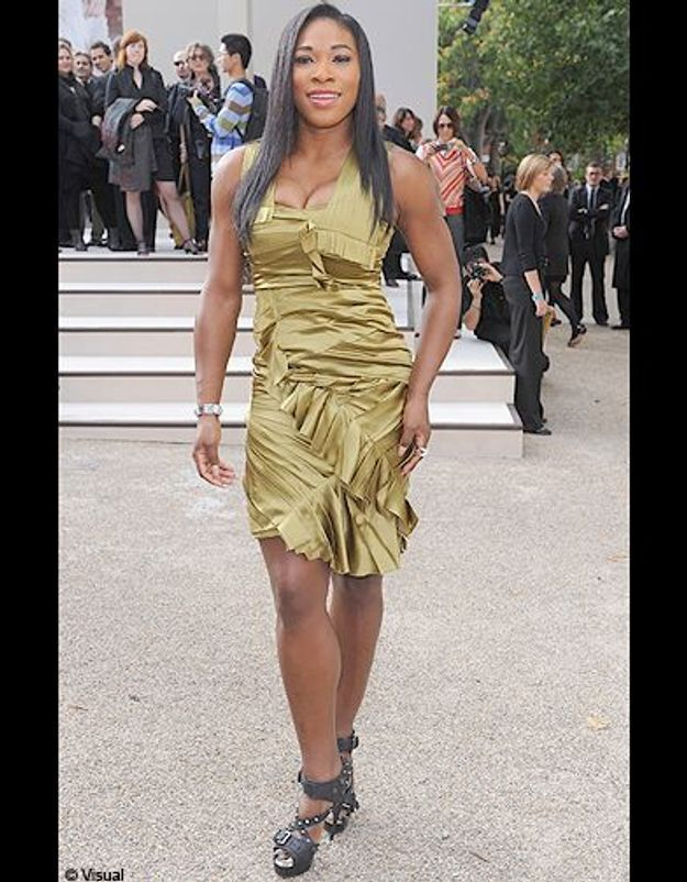 Serena Williams au défilé Burberry