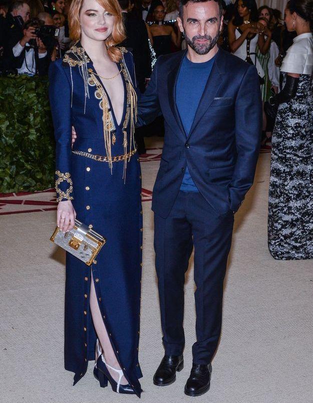 Emma Stone et Nicolas Ghesquière