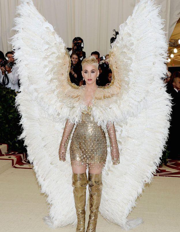 Katy Perry en Atelier Versace