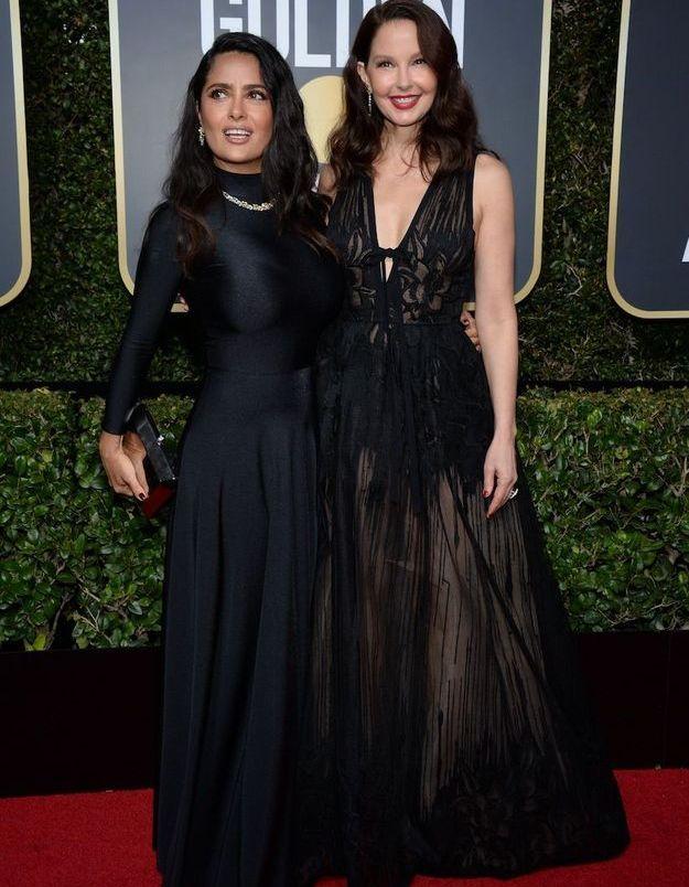 Ashley Judd et Salma Hayek