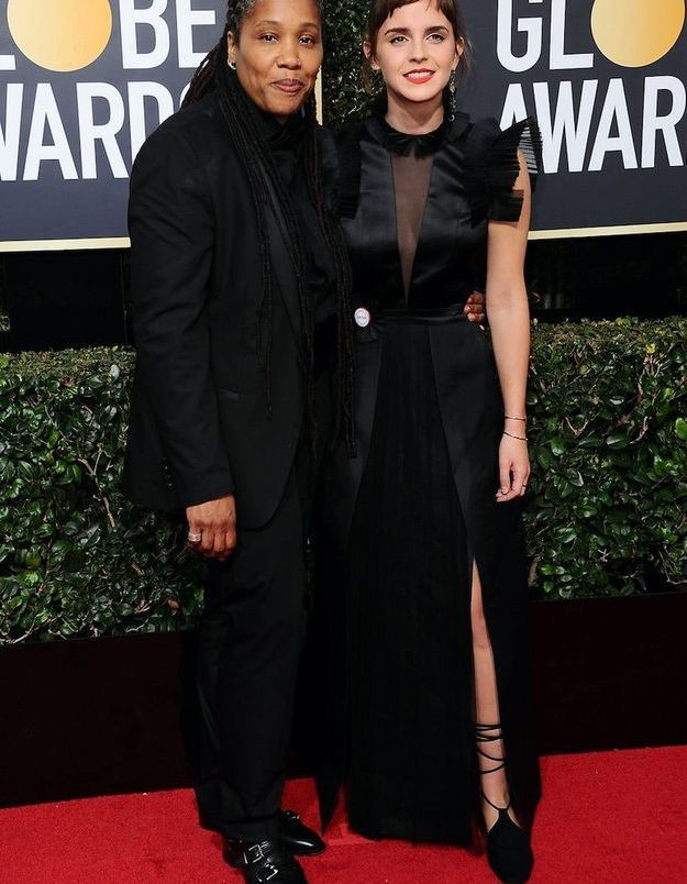 Emma Watson en Ronald van der Kemp