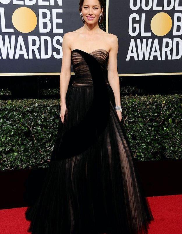 Jessica Biel en Dior Haute Couture