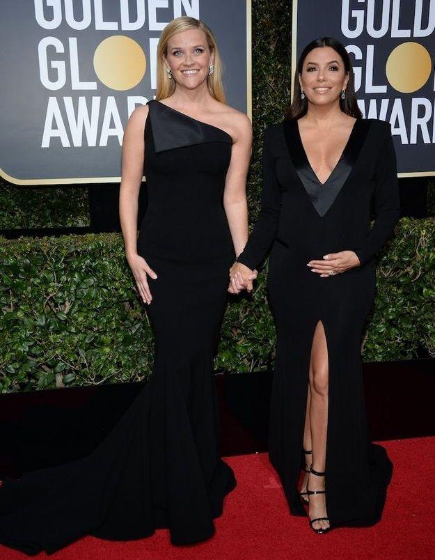 Reese Witherspoon en Zac Posen et Eva Longoria