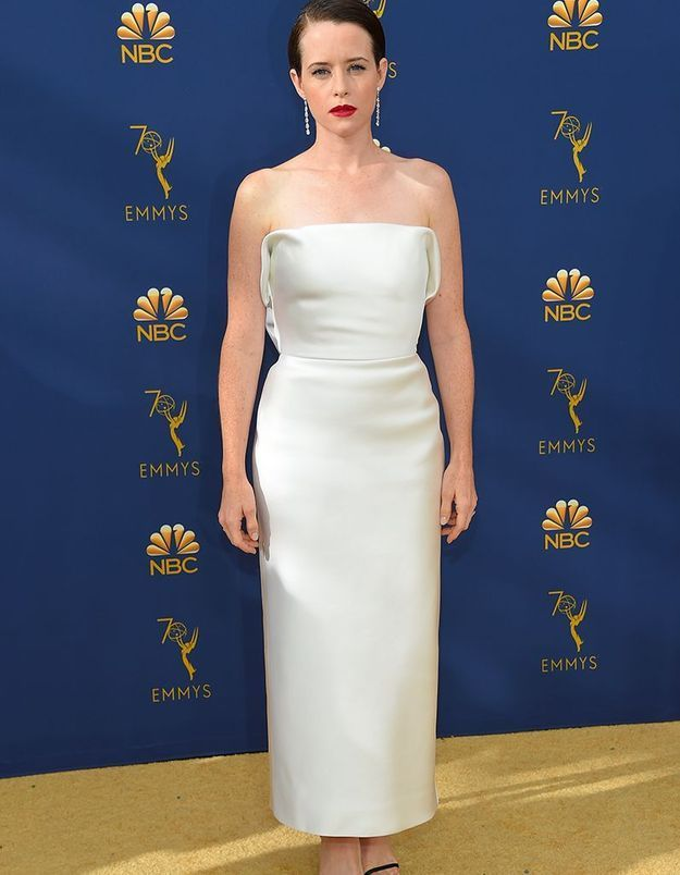Claire Foy en Calvin Klein by Appointment