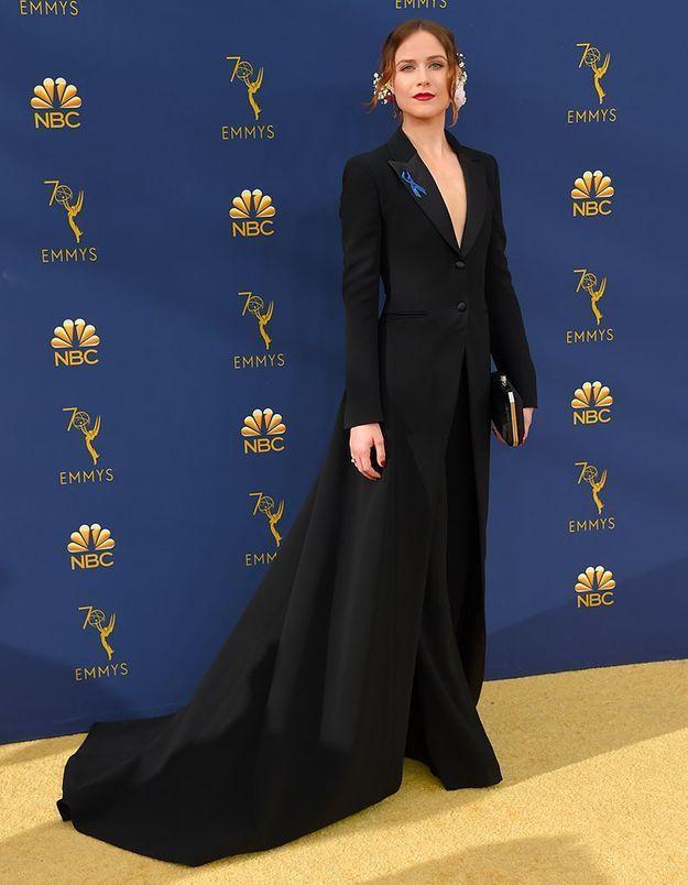 Evan Rachel Wood en Altuzarra