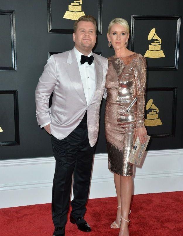 James Corden et Julia Carey