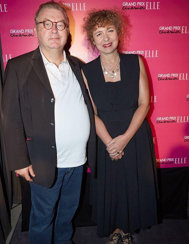 Dominique Besnehard et Valérie Toranian
