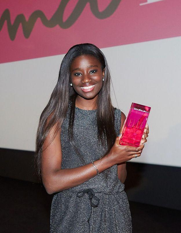 Karidja Touré reçoit son prix