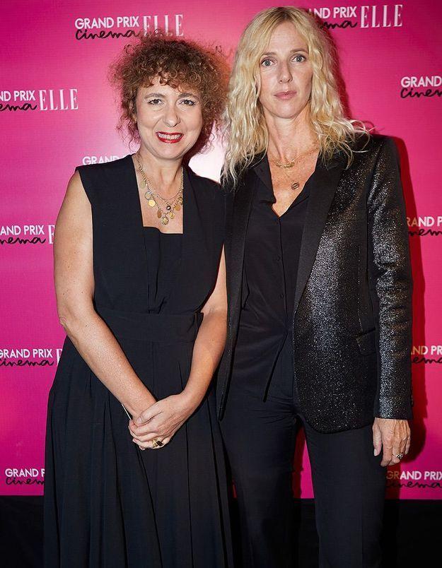 Sandrine Kiberlain et Valérie Toranian