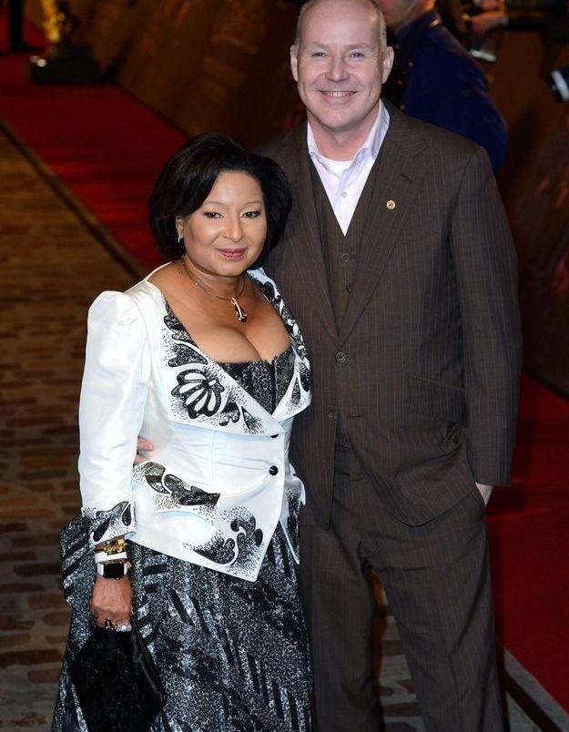 David Yates et son épouse à l'avant-première « Les Animaux fantastiques 2 »