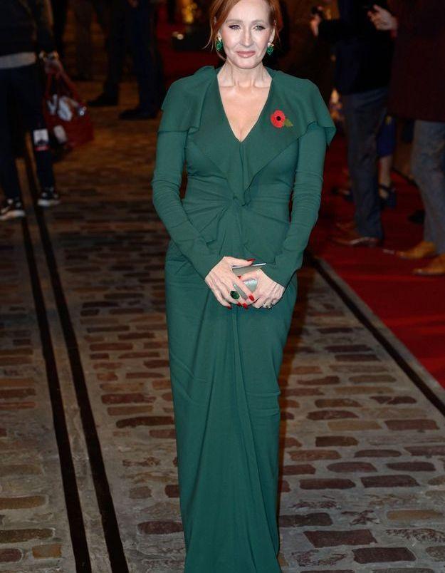 J.K Rowling à l'avant-première « Les Animaux fantastiques 2 »
