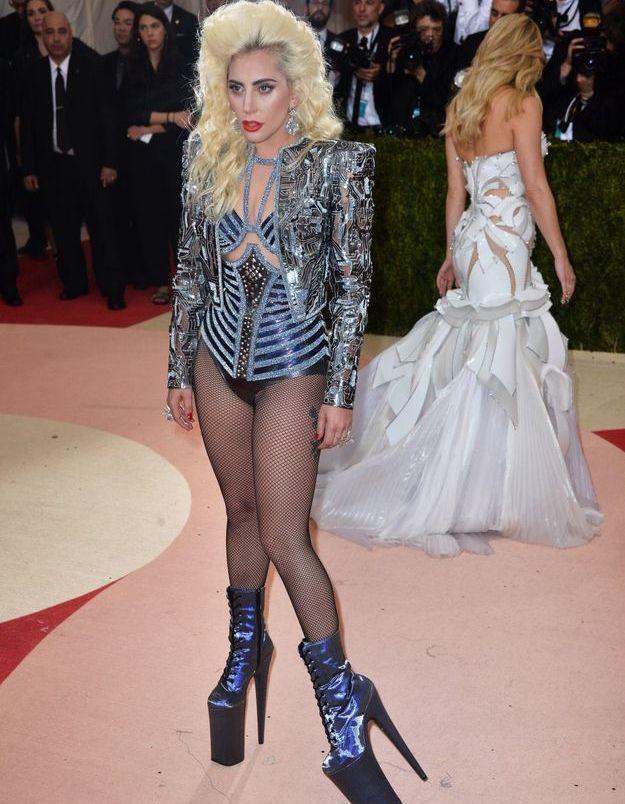 Lady Gaga en Versace
