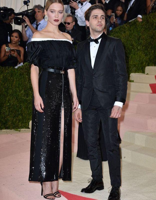 Léa Seydoux et Xavier Dolan