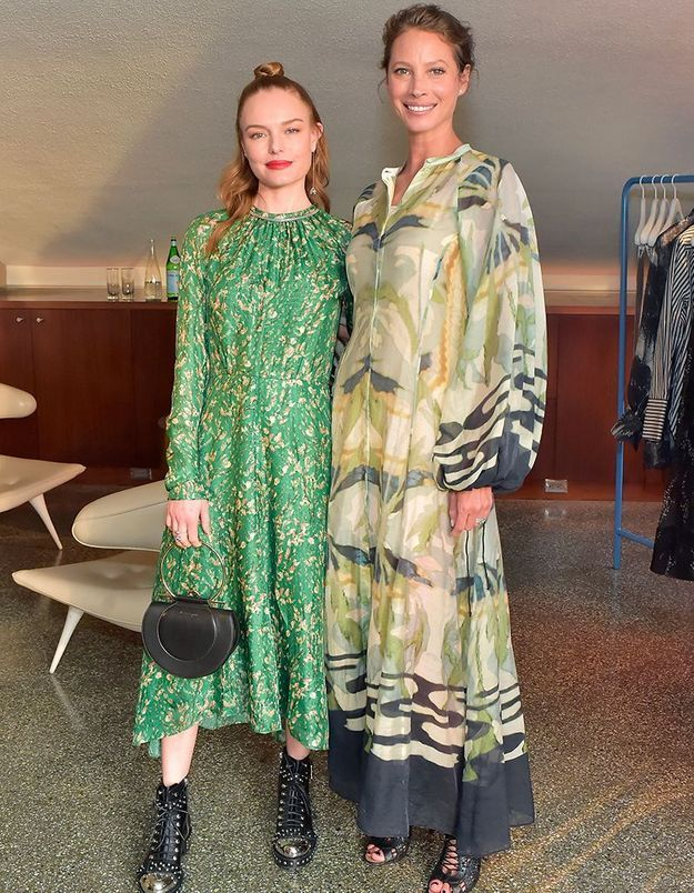 Kate Bosworth et Christy Turlington