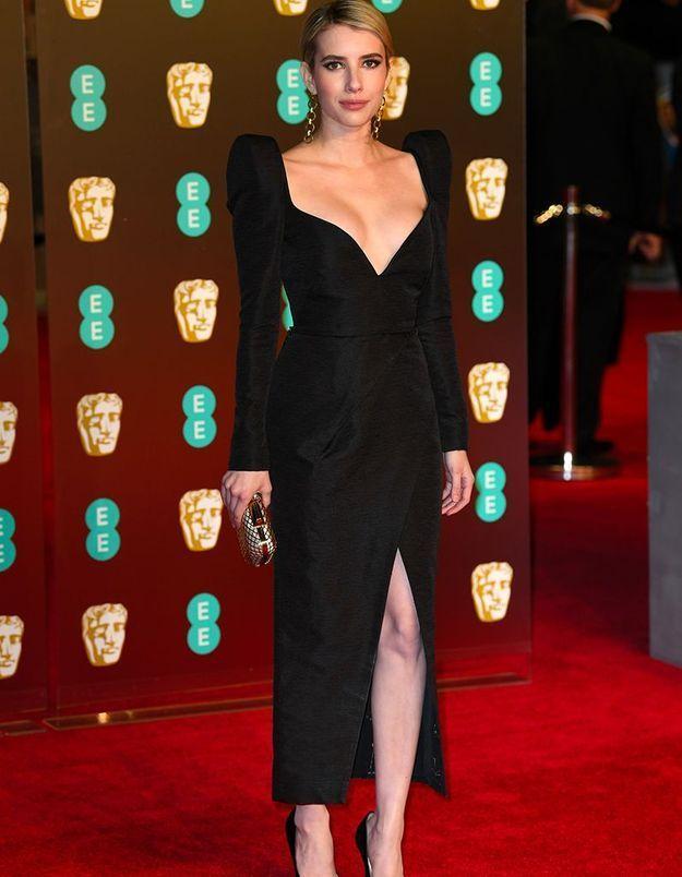 Emma Roberts en Schiaparelli Couture