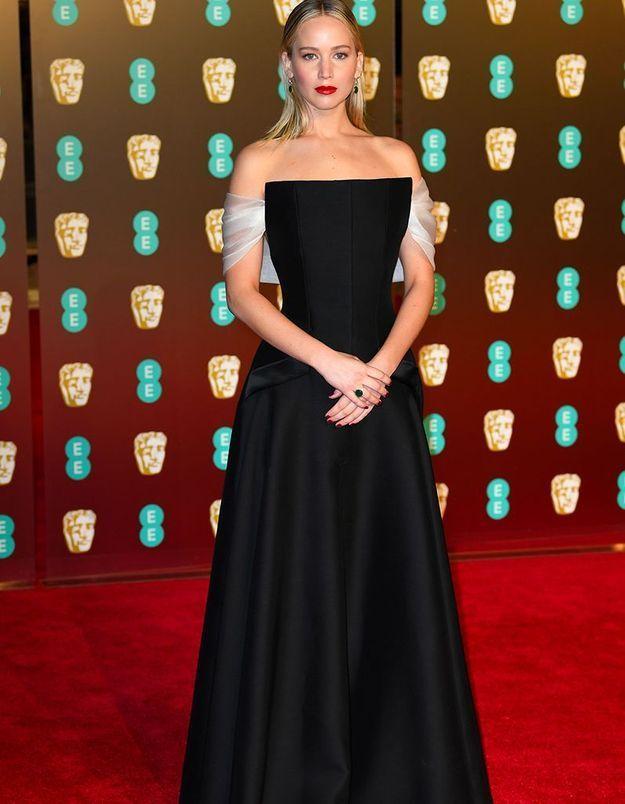 Jennifer Lawrence en Dior Couture