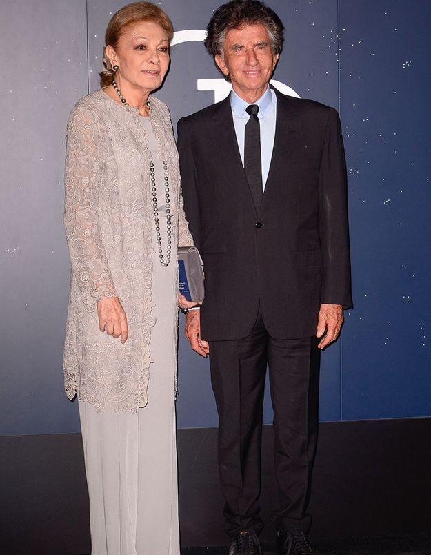 Jack Lang et Farah Pahlavi