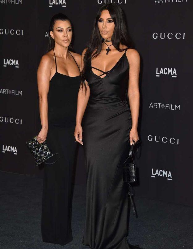 Kim et Kourtney Kardashian