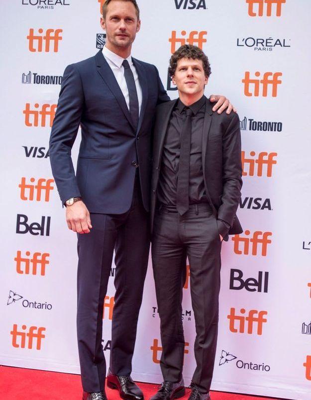 Alexander Skarsgard et Jesse Eisenberg