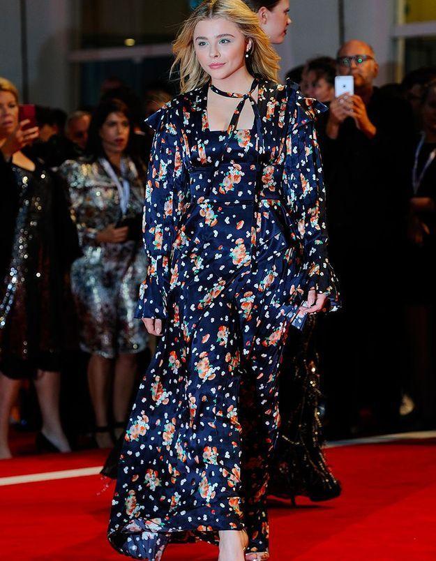 Chloë Grace Moretz en Louis Vuitton