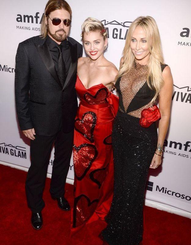 Billy Ray Cyrus, Miley Cyrus et Tish Cyrus