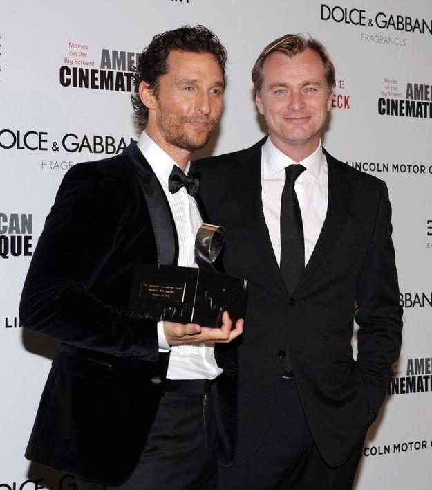 Christopher Nolan et Matthew McConaughey